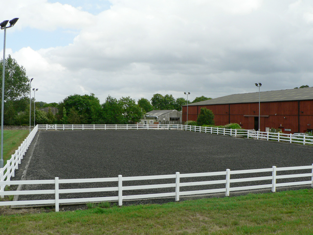 The Outdoor Equine Arena